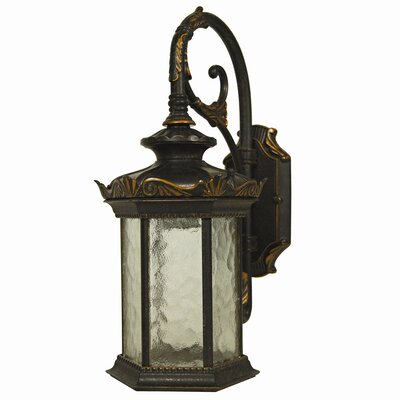 Yosemite Home Decor Briar 1 Light Outdoor Wall Sconce