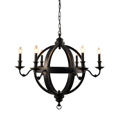 Bridgette 6 Light Chandelier