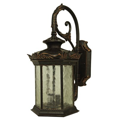 Outdoor Wall Light Decor : Yosemite Home Decor Tara 1 Light Outdoor Wall Lantern & Reviews Wayfair