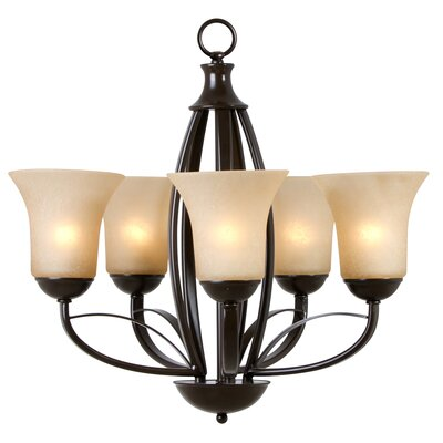 Yosemite Home Decor Tioga Pass 5 Light Chandelier