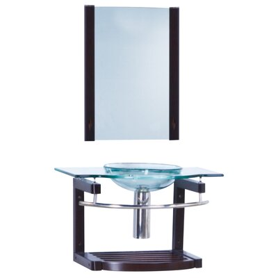 "Yosemite Home Decor Transitional Single 31.5"" Bathroom Vanity Set"