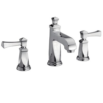 Yosemite Home Decor Two Handle Widespread Deck Mount Lavatory Faucet with Pop-Up Drain