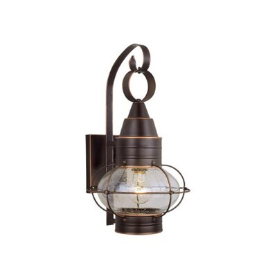 Vaxcel Nautical 1 Light Outdoor Wall Lantern