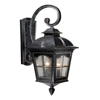 Vaxcel Arcadia Outdoor 3 Light Wall Lantern