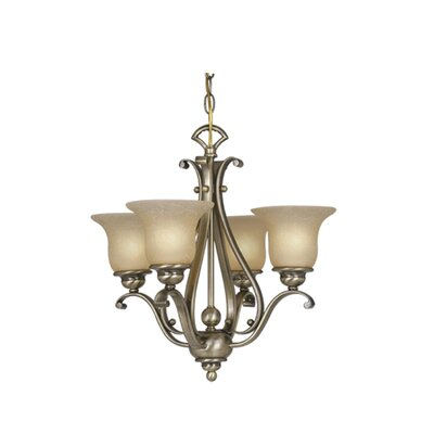 Vaxcel Monrovia 4 Light Chandelier