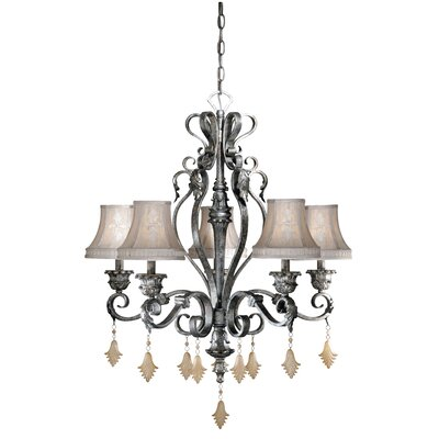 Vaxcel Montmarte 5 Light Chandelier