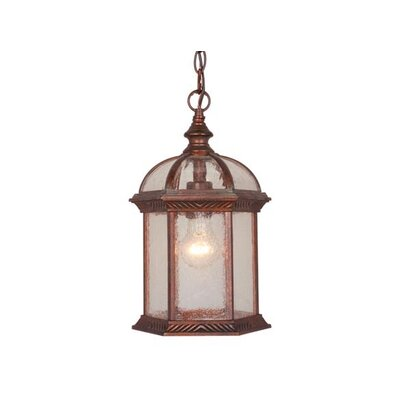 Vaxcel Chateau 1 Light Outdoor Pendant