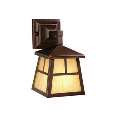 Vaxcel Mission 1 Light Outdoor Wall Lantern