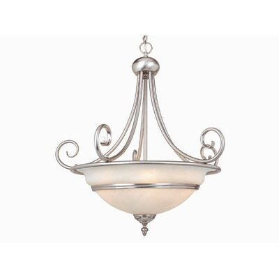 Vaxcel Da Vinci 5 Light Inverted Pendant