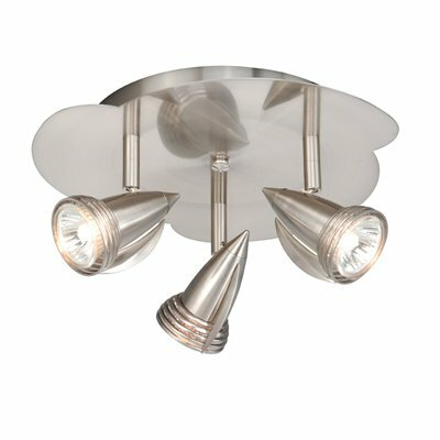 Vaxcel Semi Flush Mount Spotlight