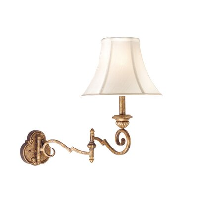 Vaxcel Versailles Swing Arm Wall Lamp