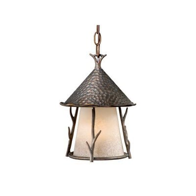 Vaxcel Woodland 1 Light Outdoor Pendant