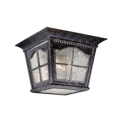 Vaxcel Arcadia Outdoor 3 Light Flush Mount