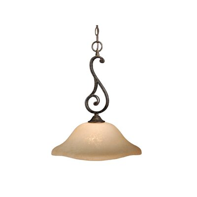Caspian 1 Light Pendant