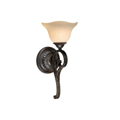 Vaxcel Caspian 1 Light Wall Sconce