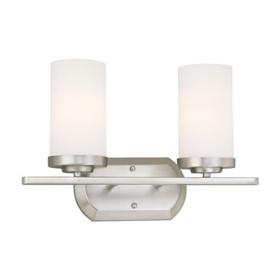 Vaxcel Oxford 2 Light Vanity Light