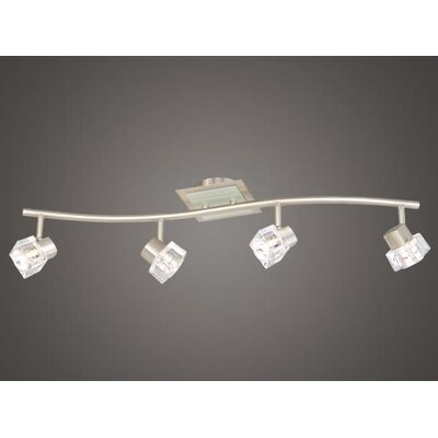 Vaxcel Linear Spotlight  Kit in Satin Nickel