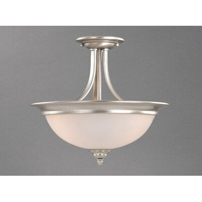 Vaxcel Avalon 2 Light Semi Flush Mount