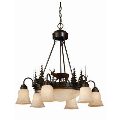 Vaxcel Bryce 9 Light Chandelier