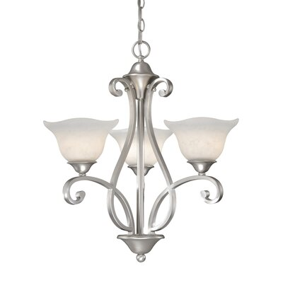 Caspian 3 Light Chandelier