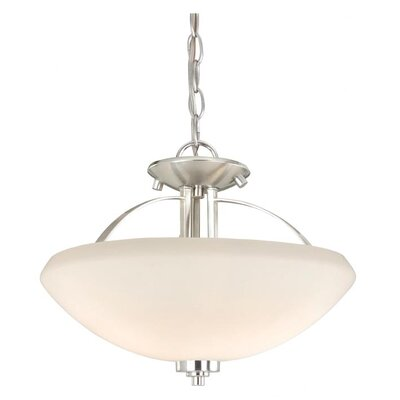 Vaxcel Solna 2 Light Inverted Pendant