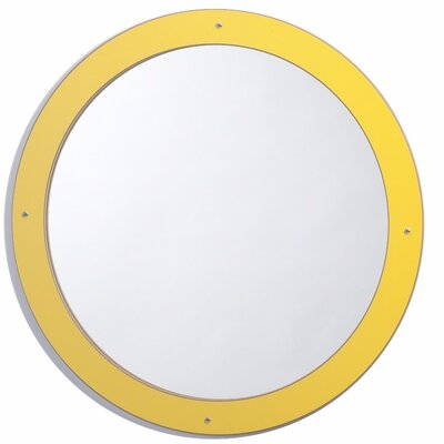 Whitney Brothers Framed Circle Mirror