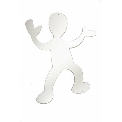 "Whitney Brothers 36"" H x 31.25"" W Dancing Boy Silhouette Mirror"