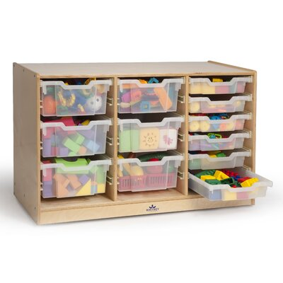 Whitney Brothers Triple 12 Compartment Cubby