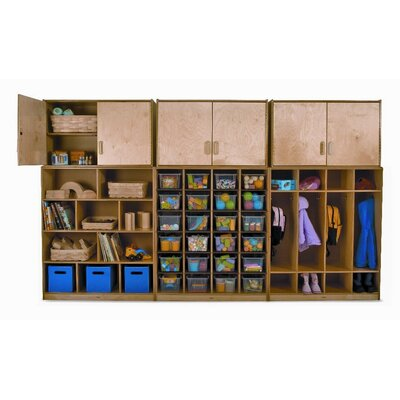 Whitney Brothers Wall 24 Compartment Cubby