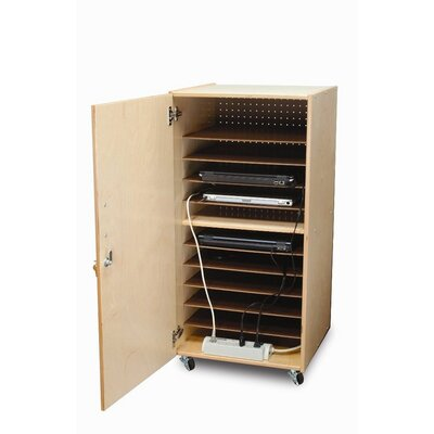 Whitney Brothers Single Laptop Security Cabinet