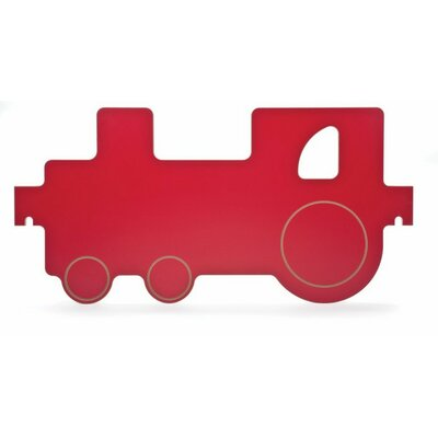 Whitney Brothers Room Divider Train Panel in Red and Yellow