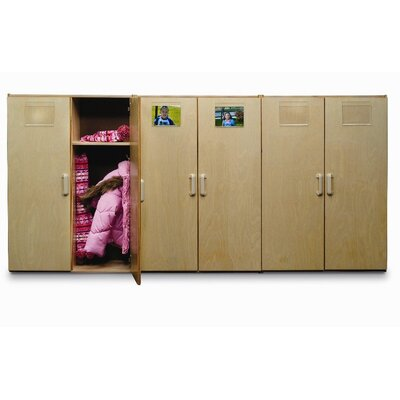 Whitney Brothers Toddler Two Unit Coat Locker