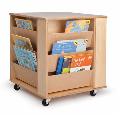 Whitney Brothers Four Sided Book Rack