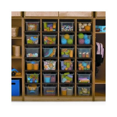Whitney Brothers Wall Storage Tray Cabinet