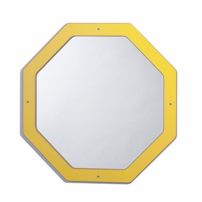 Whitney Brothers Framed Hexagon Mirror