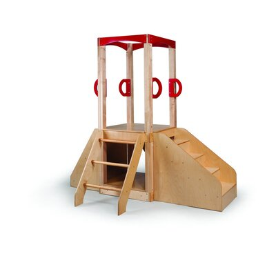Whitney Brothers Slide, Steps, Climbing Wall-Ladder Activity Center