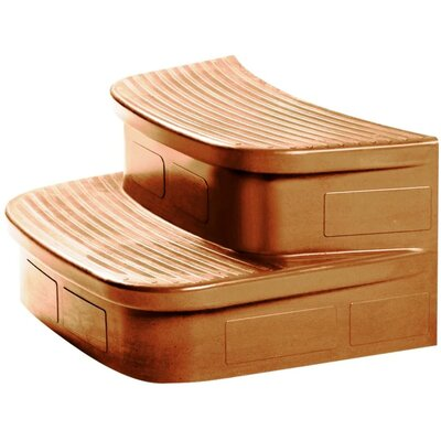 Lifesmart Matching Sandstone Spa Steps for The Luna Rock Solid Series Spa