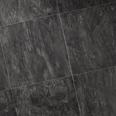 Quick-Step Quadra Natural Stone 8mm Laminate in Black Opal Slate