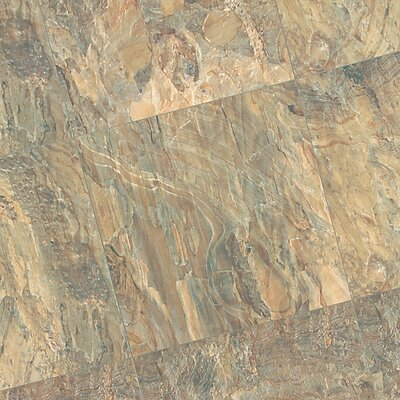Quadra Natural Stone 8mm Laminate in Indian Autumn Slate