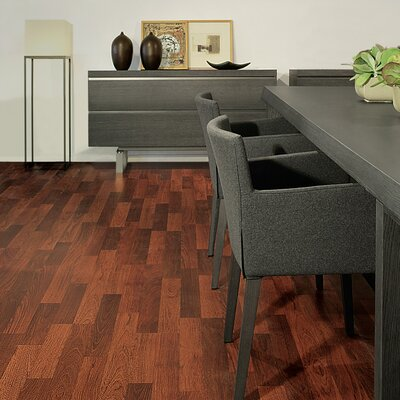 Quick-Step Eligna 8mm Cherry Laminate in Brazilian Dbl Plank