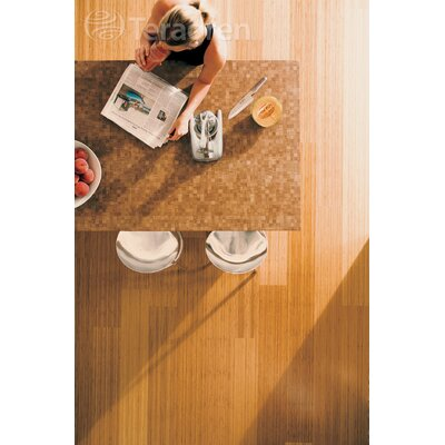 "Teragren Studio Floating Floor 7-11/16"" Vertical Bamboo Flooring in Caramelized"
