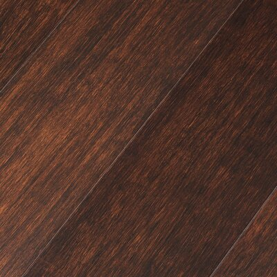 "Teragren Portfolio 5"" Engineered Self-Locking Bamboo Flooring in Darby Brown"