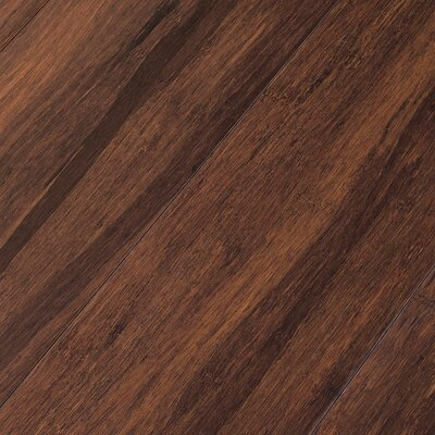 "Teragren Portfolio 5"" Engineered Self-Locking Bamboo Flooring in Brown Sugar"