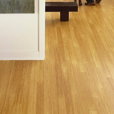 "Teragren Synergy 7-11/16"" Engineered Self-Locking Bamboo Flooring in Wheat"