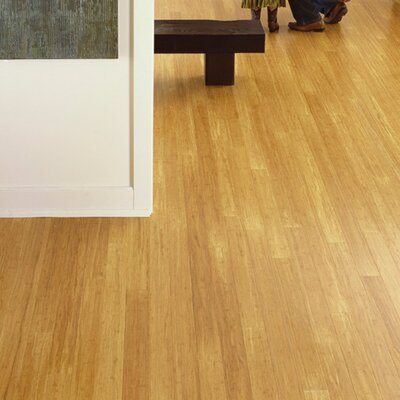 "Teragren Synergy 3-3/4"" Strand Bamboo Flooring in Wheat"