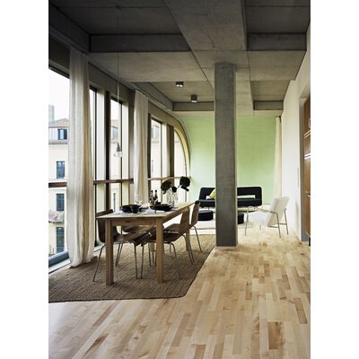 "Kahrs European Naturals 3-Strip 7-7/8"" Engineered Maple Salzburg  Flooring"
