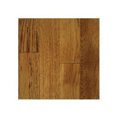 "Mullican Flooring Muirfield 3"" Solid Hickory Flooring in Saddle"