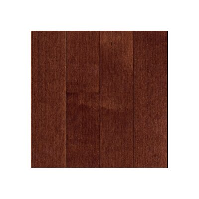 "Mullican Flooring Muirfield 3"" Solid Maple Flooring in Bordeaux"