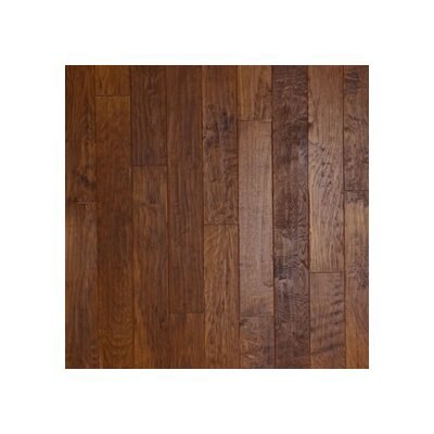 "Anderson Floors Hickory Forge 5"" Engineered Handscraped in Golden Ore"
