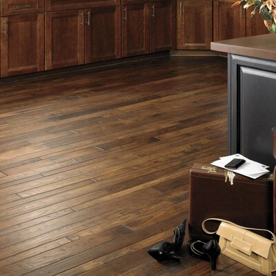 "Appalachian Flooring Colonial Manor 3-1/4"" Solid Hickory Flooring in Hobnail"